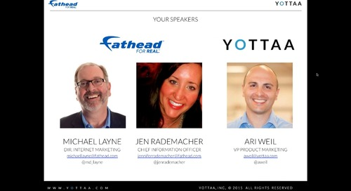 Webinar: How Fathead Conquered Responsive Design and Increased Revenue (Recording)