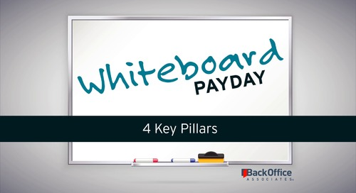 4 Key Pillars [Whiteboard Payday]