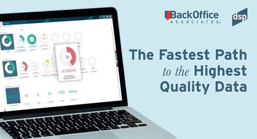 Fastest Path to High Quality Data with BackOffice Associates