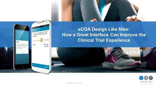 eCOA Design Like Nike: How a Great Interface Can Improve the Clinical Trial Experience