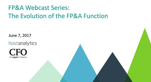The Evolution of the FP&A Function