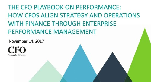 How CFOs Align Strategy and Operations With Finance