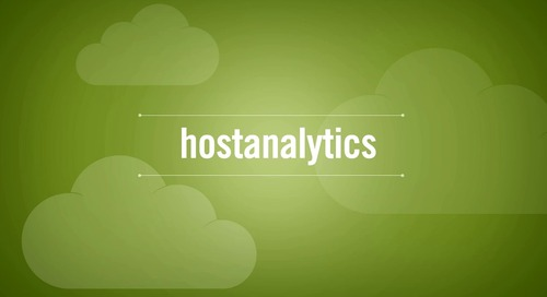 Host Analytics Cloud EPM Suite