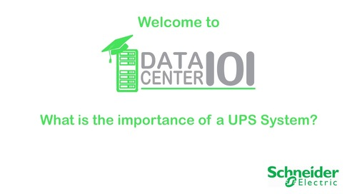 What is the importance of a UPS System?