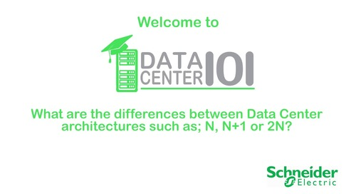 The differences between data center architectures