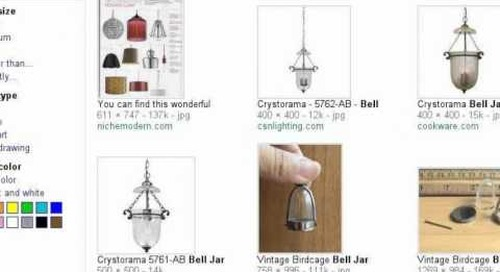 Bell Jar Modern Pendant Light - Search Story