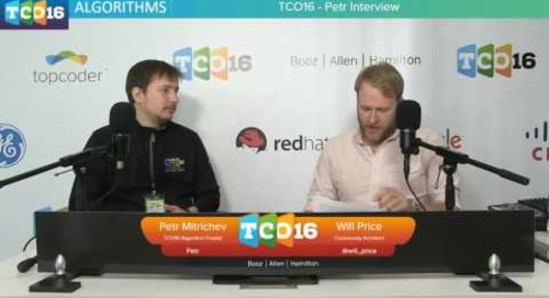Topcoder Open 2016 - Petr Interview #programming #design