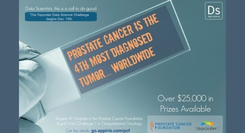 Topcoder Data Science Marathon Match: Prostate Cancer Foundation - Computational Oncology