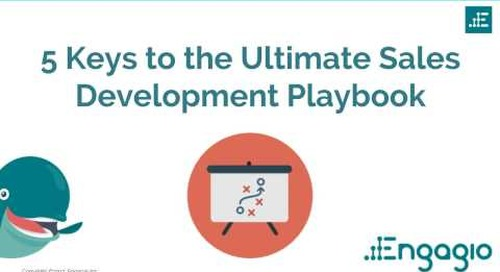 Engagio Webinar: 5 Keys to the Ultimate Sales Development Playbook