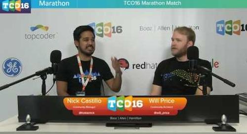 Topcoder Open 2016 - Marathon Match & Design Semifinals 1 - Part 3 #programming #design