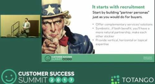 [Track 1] The Role of Partners in the Subscription Economy - Customer Success Summit 2017
