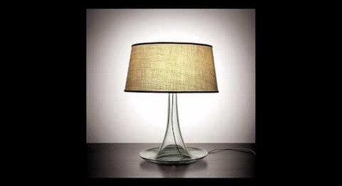 Handmade Glass Table Lamps by Niche Modern