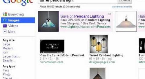 Turret Modern Pendant Light - Search Story
