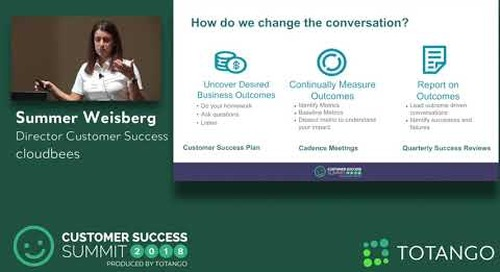 Outputs vs. Outcomes - Why Your CS Team Must Understand the Difference - CSSummit18