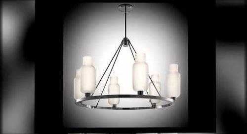 Modern Sola Chandelier Lighting by Niche