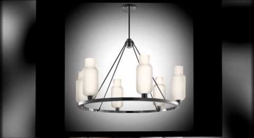 Modern Sola Chandelier Lighting by Niche