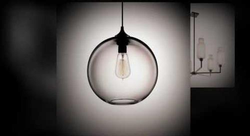 Handmade Glass Modern Pendant Lighting by Niche