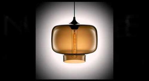 Modern Glass Pendant Lighting by Niche