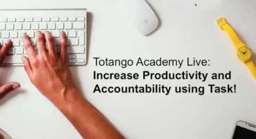 Increase Productivity and Accountability by tracking and reporting on team tasks