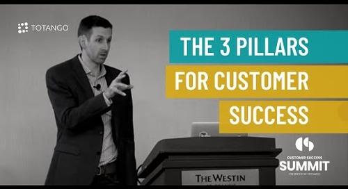 The 3 Pillars for Customer Success - Customer Success Summit 2015