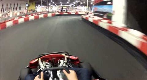 Kofax & Atalasoft Crew Having Fun at K1 Karting Irvine (view 1080p)