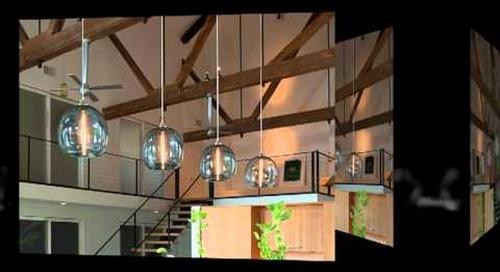 Niche Modern Handmade Glass Stamen Light