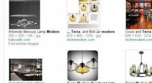 Terra Modern Pendant Light - Search Story