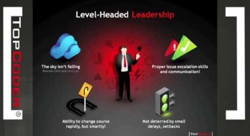 5 Traits of Effective Leaders in Open Innovation - TopCoder Webinar Series