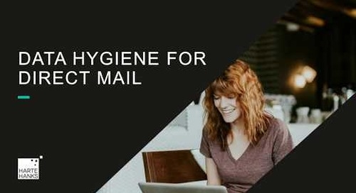 Data Hygiene for Direct Mail
