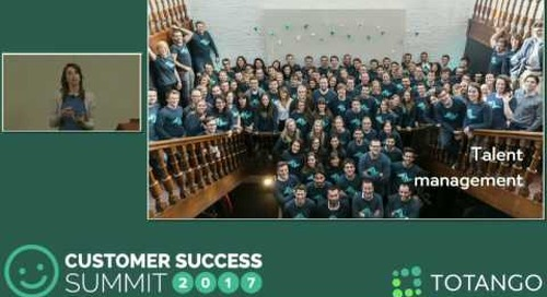 [Track 2] Challenging the Status Quo for International Customers - Customer Success Summit 2017