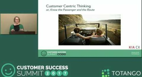 [Track 1] Transforming Eloqua into a Customer-Centric Organization - Customer Success Summit 2017