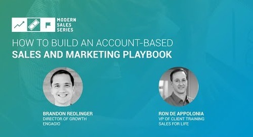 How To Build An Account Based Marketing and Sales Playbook