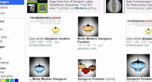Stargazer Modern Pendant Light - Search Story
