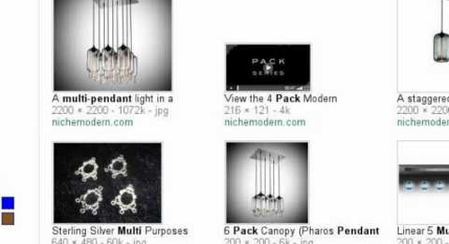 Modern Pack Multi-Pendant Chandeliers - Search Story