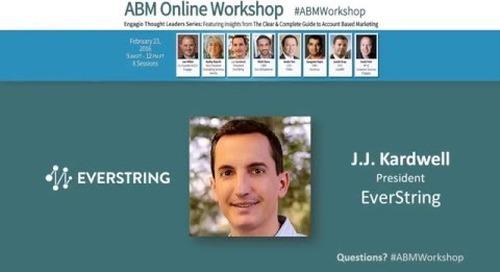 Engagio ABM Workshop: Target Account Selection
