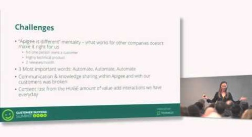 The CS (R)evolution Democratizing Customer Success -  Erika Muelle