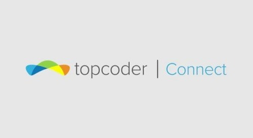 Topcoder Connect: Tap Into the Power of Crowdsourcing