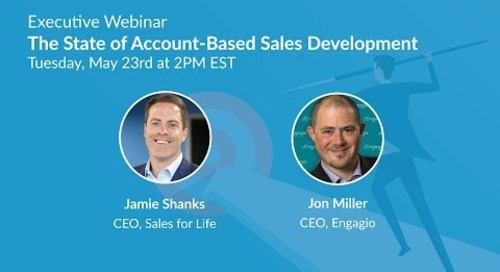 Executive Webinar: The State of Account Based Sales Development