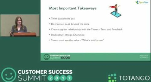 [Track 3] How our Early Warning System Helps us Retain 12k+ Customers - Customer Success Summit 2017