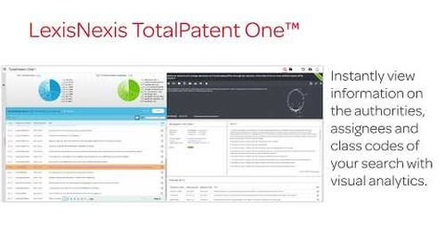 LexisNexis® TotalPatent One™