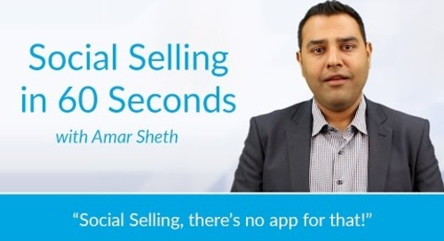 Social Selling: There's No App For That!