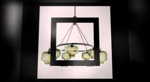 Niche Modern Chandelier Lighting in Smoke