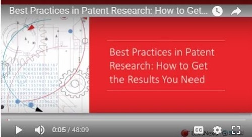 Best Practices in Patent Research: How to Get the Results You Need
