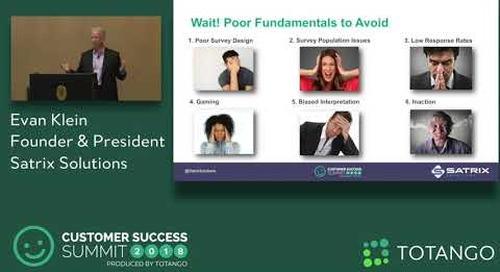 Three Companies That Elevated Their VOC - Customer Success Summit 2018 (Track 1)