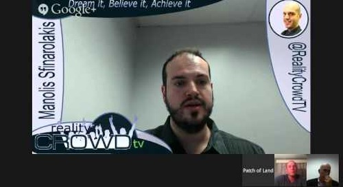 Real Estate Crowdfunding Webinar #4 - Patch of Land Testimonial with James Evans