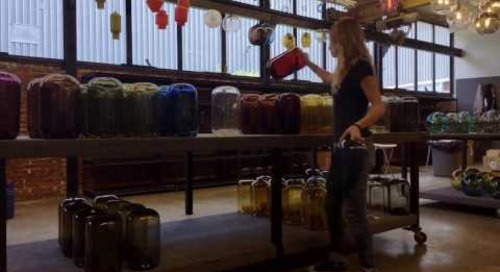 Niche 2016 Spring Factory Sale Set Up - Handmade Pendant Lighting