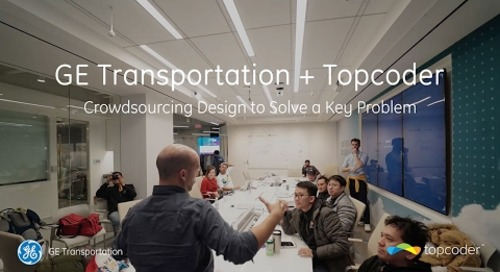 GE Transportation + Topcoder: Crowdsourcing Design to Solve a Key Problem