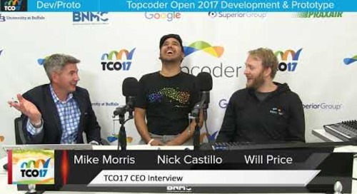 TCO17 Interview with Mike Morris