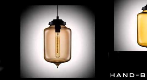 Niche Modern Turret Handmade Glass Lighting
