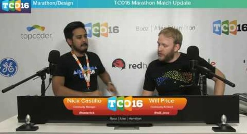 Topcoder Open 2016 - Marathon Match Update #programming #design
